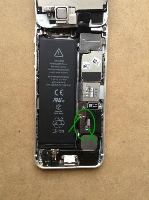 iPhone5バッテリー交換4