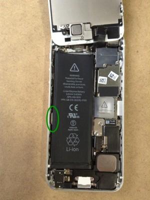 iPhone5バッテリー交換6