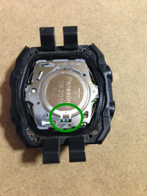 g-shock電池